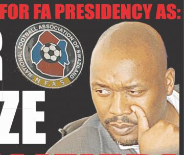 Times of swaziland mbabane the race for the fa presdent position has taken a new twist as pls chairman victor gamedze was disqualified stopboris Gallery